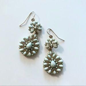 Bejeweled Mint Earrings